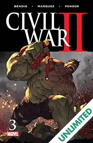 Civil War II (2016) #3 (of 8)